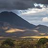 Neuseeland, Tongariro Sonnenuntergang