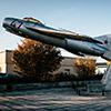 Großenhain MiG-17 Statue