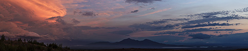 Kamchatka, Shiveluch panorama