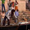 Ghats und Hindus, Varanasi/Indien