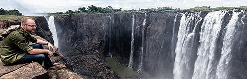 Victoria Falls, Rainbow Falls