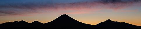 Avachinskaya Sopka volcano, Kamchatka
