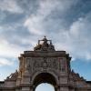 Lisbon, Praça do Comércio, Arco da Rua Augusta