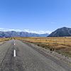 Neuseeland, Südliche Alpen, Lake Ohau