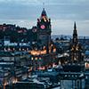 Edinburgh Sonnenuntergang