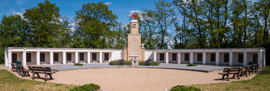 Soviet memorial in Lebus