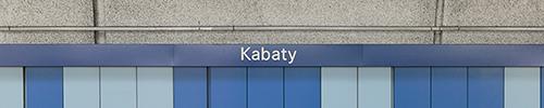 Warschau, Linie 1, Kabaty