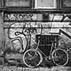 Berlin, Prenzlauer Berg, Altbau, Fahrrad