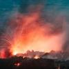 Ibu volcano eruption