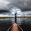 Okavango Delta, Botswana, Mokoro