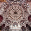 Dome of Yeni Valide Mosque in Istanbul